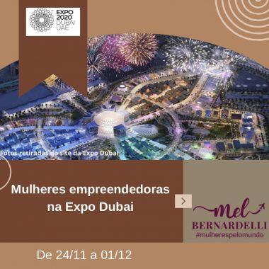 Mulheres <span>empreendedoras na Expo Dubai – Novembro de 2021</span>
